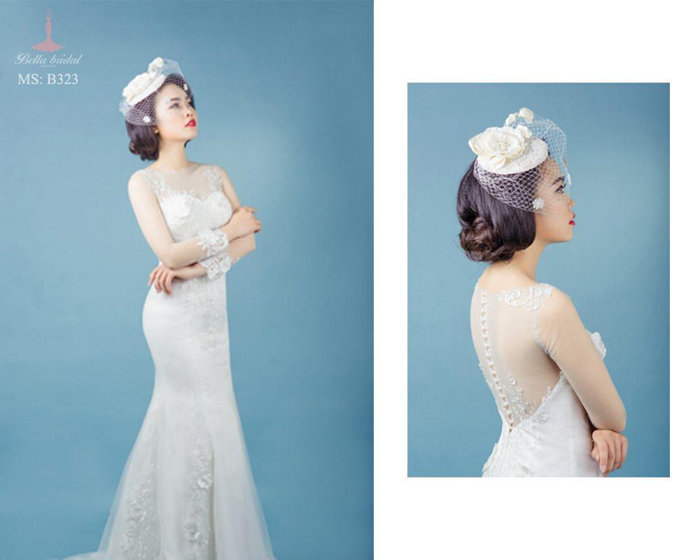 Kinh nghiệm chọn váy cưới đẹp ở Hà Nội 6