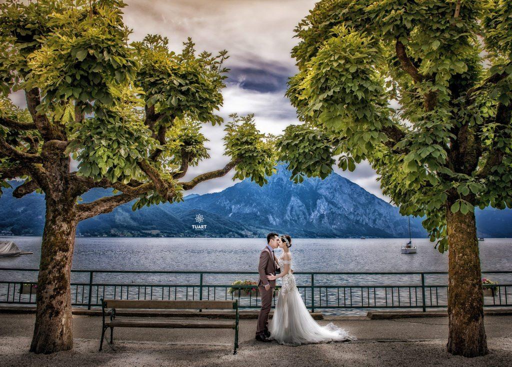 chụp ảnh cưới đẹp tại Áo