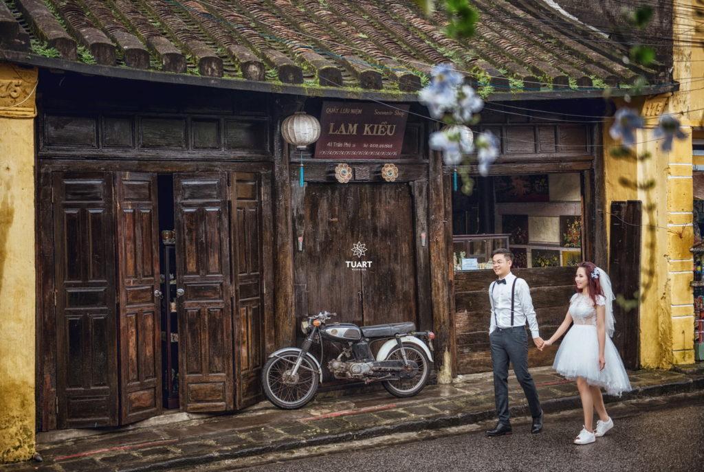chụp ảnh cưới đẹp tại Hội An