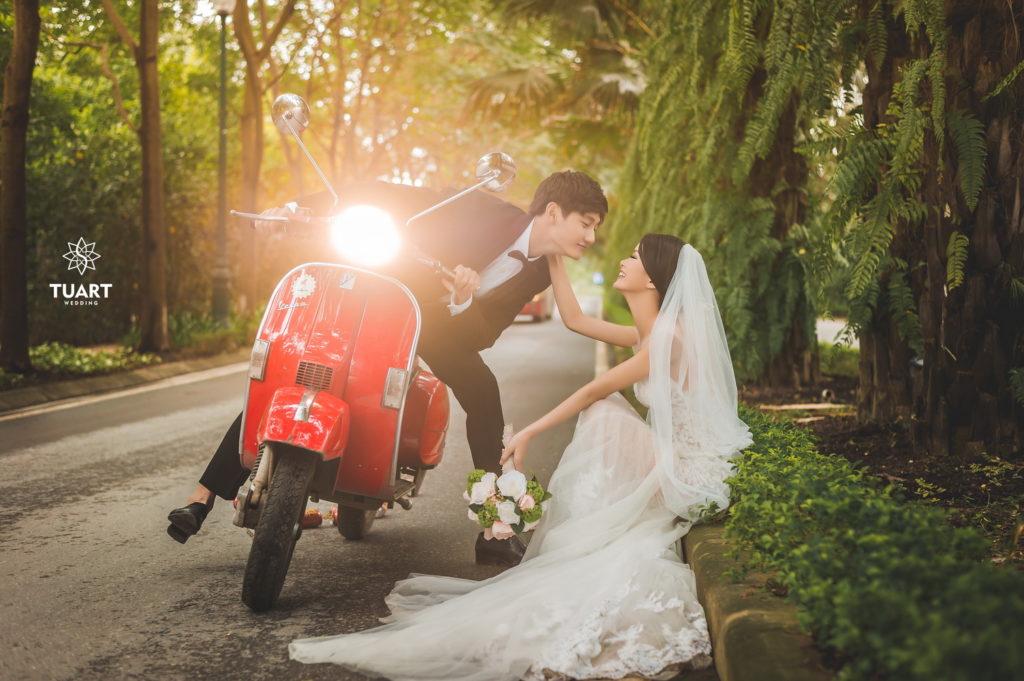 Ảnh cưới đẹp tháng 12