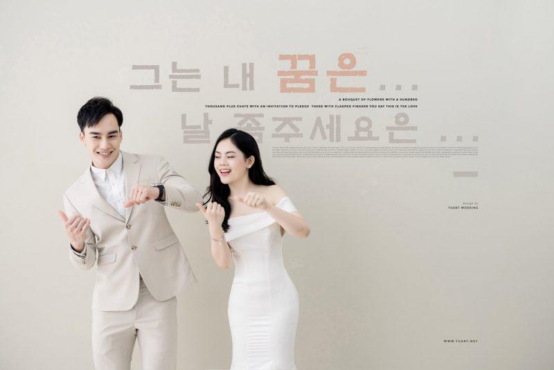 Album ảnh cưới phong cách Hàn Quốc