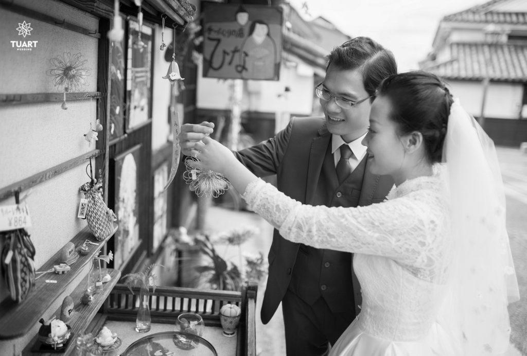 Album ảnh cưới Nhật Bản
