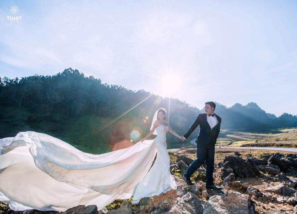 Kinh nghiệm khi thuê váy cưới Hà Nội