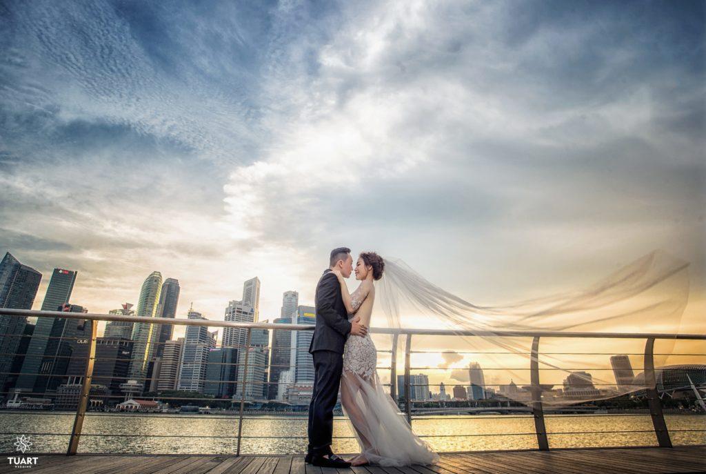 Album ảnh cưới đẹp Singapore