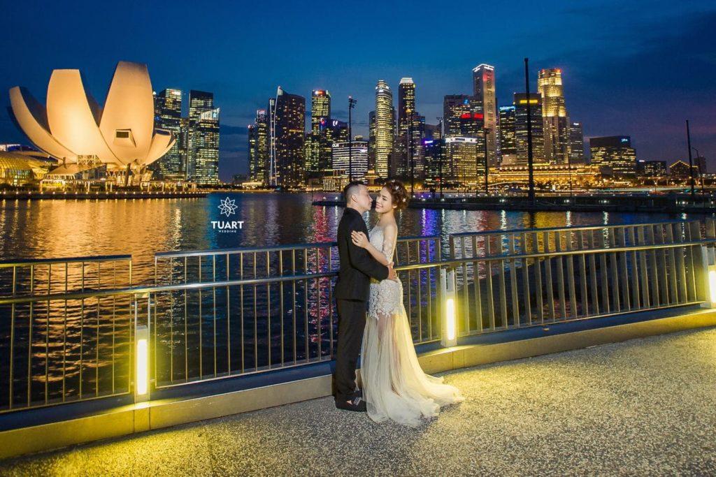 chụp ảnh cưới đẹp Singapore