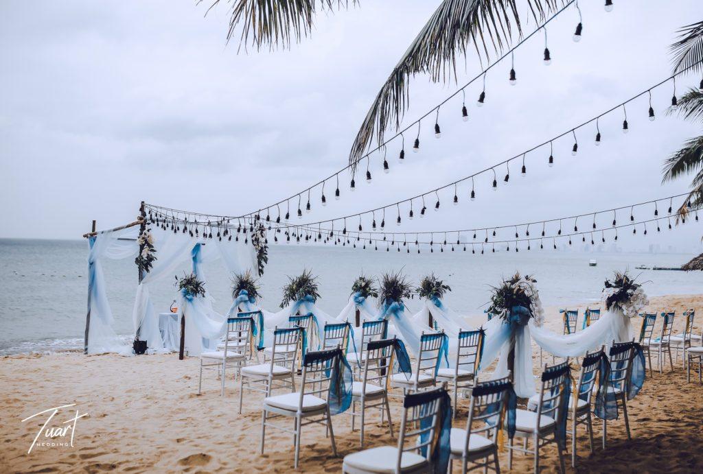 không gian decor tiệc cưới