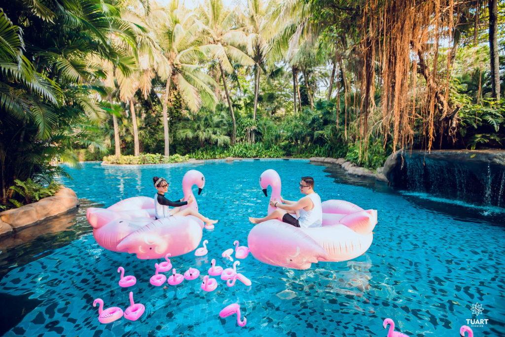 chụp ảnh cưới đẹp tại Resort Đà Nẵng