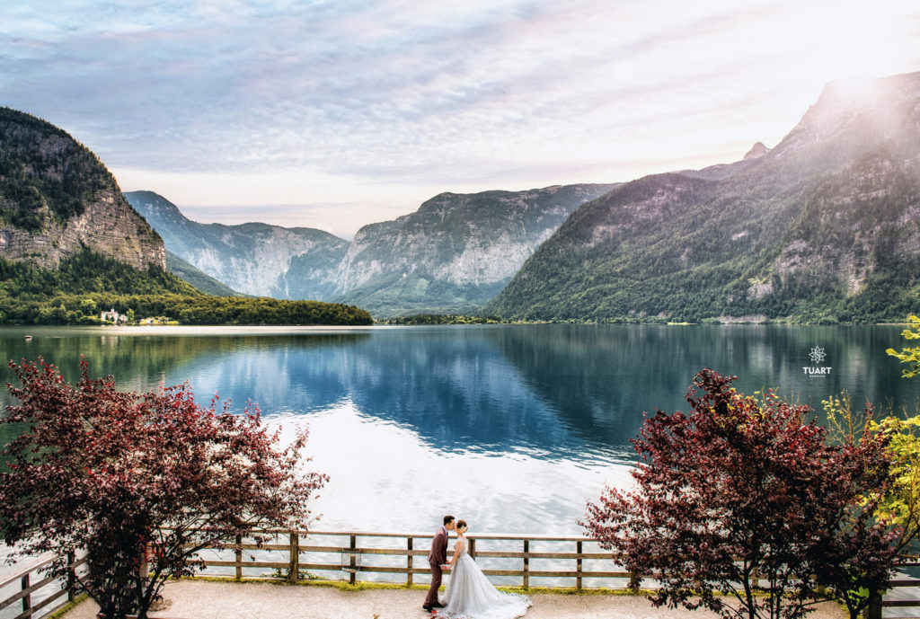 Album ảnh cưới đẹp tại Áo