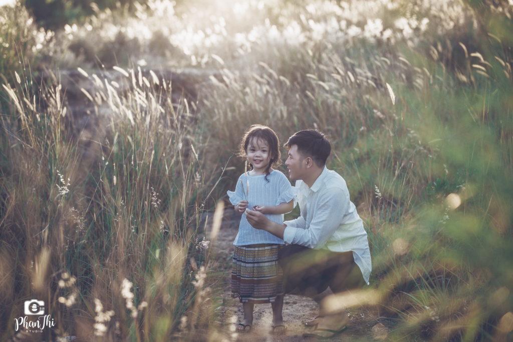 Album Chụp ảnh gia đình: Bố và con gái