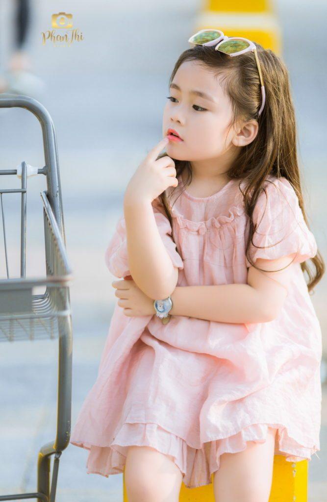 chụp ảnh cho bé gái đẹp