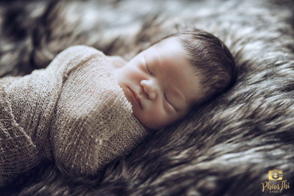 chụp hình cho bé sơ sinh đẹp