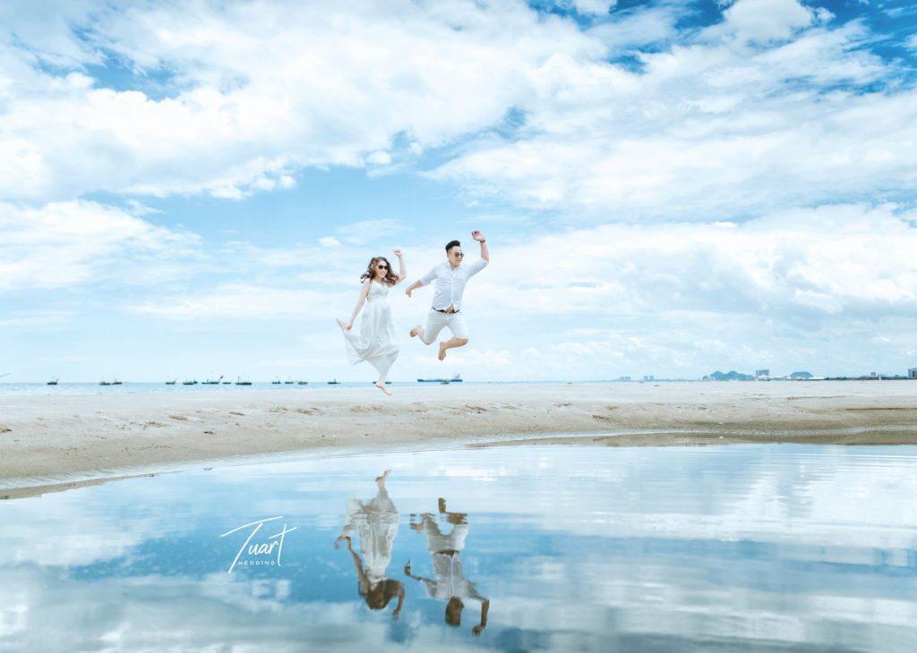 Chụp ảnh cưới đẹp ở biển đà nẵng