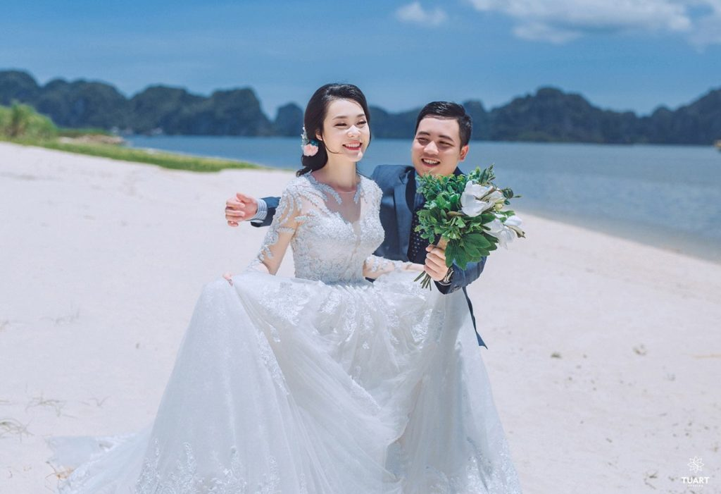 Album ảnh cưới đẹp Quảng Ninh: Linh Chi – Hải Nam