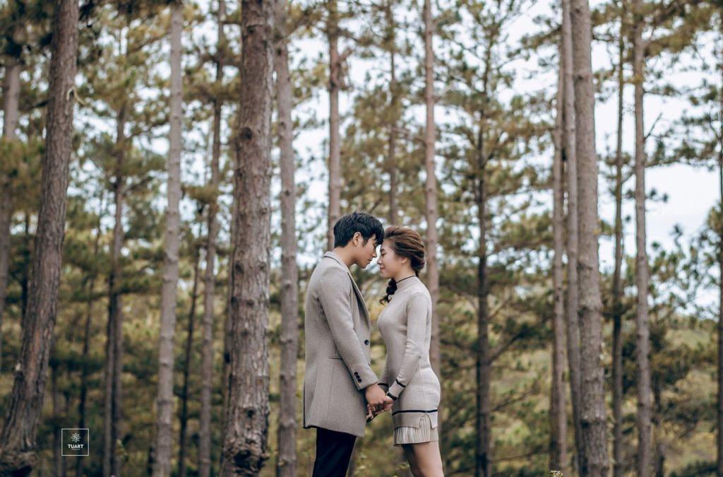 Studio chụp ảnh cưới đẹp Đà Lạt
