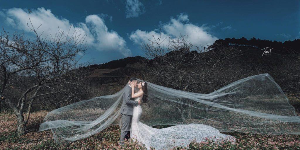 Chụp ảnh cưới đẹp, độc, lạ