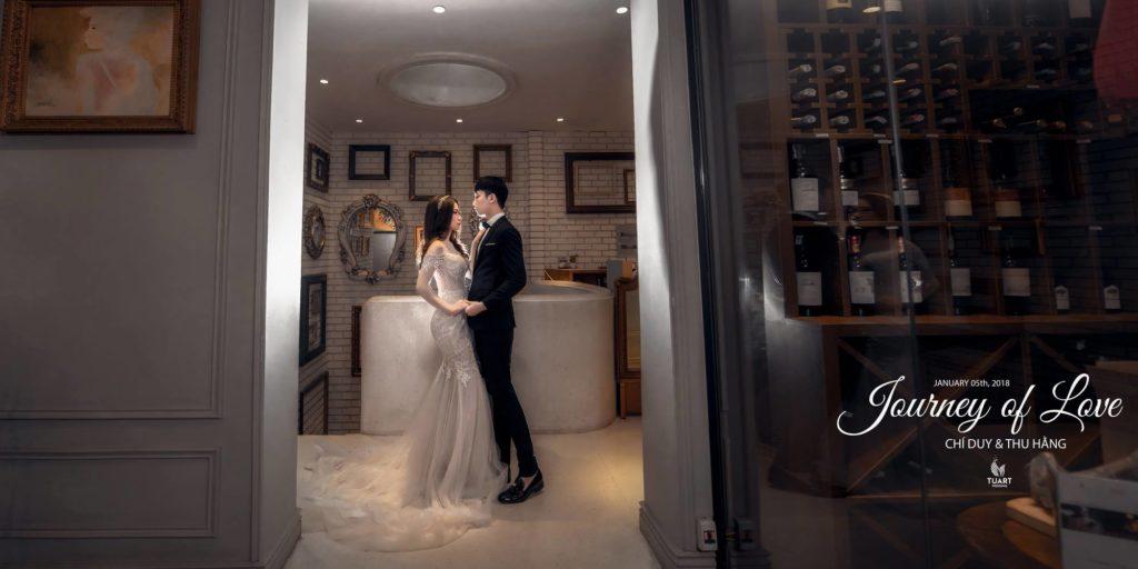 Studio ảnh cưới đẹp - Cafe phố cổ