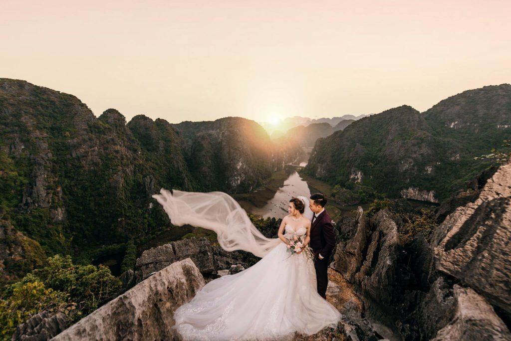 Album ảnh cưới đẹp Non nước Ninh Bình