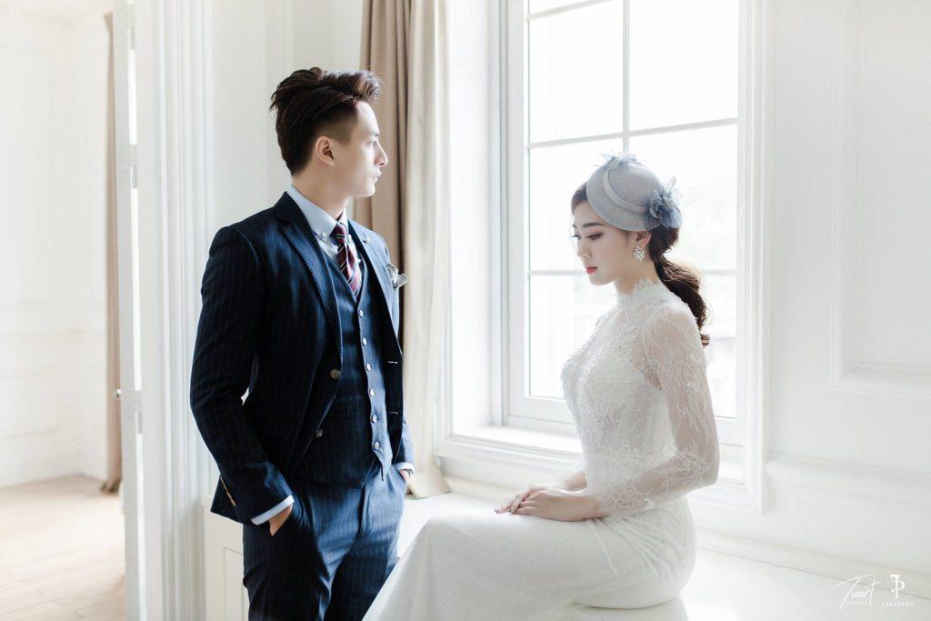 Album tại Biệt thự hoa hồng: – Album ảnh cưới đẹp ở Hà Nội