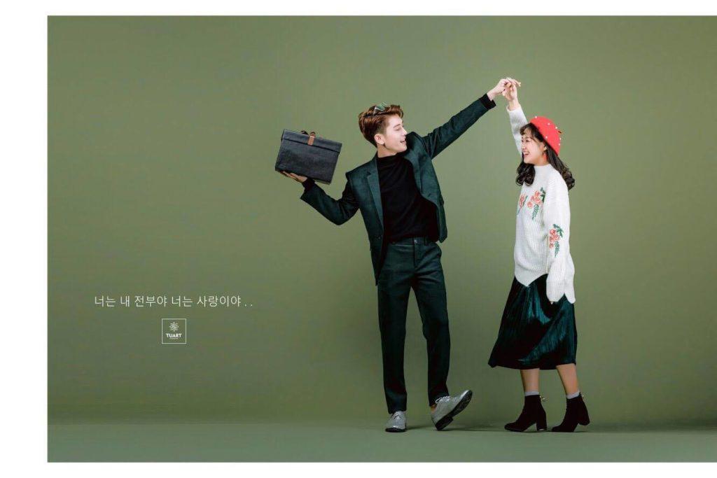 Album tại TuArt – Album chụp ảnh cưới Concept Hàn Quốc