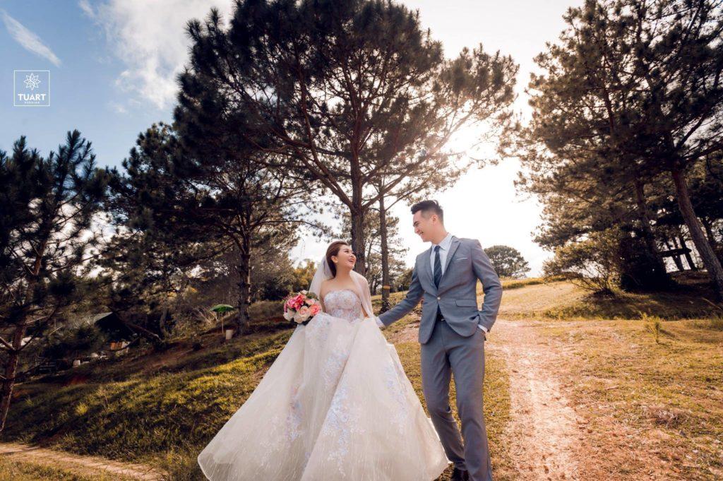 Ảnh viện áo cưới đẹp tại Đà Lạt