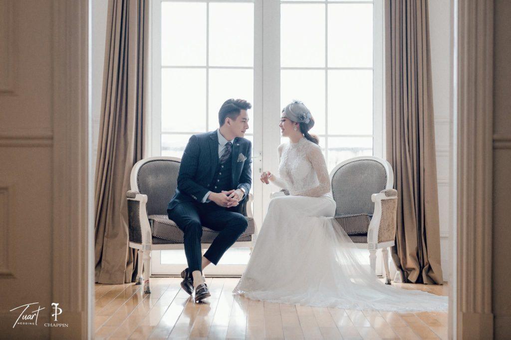 Studio ảnh cưới đẹp - Biệt thự hoa hồng