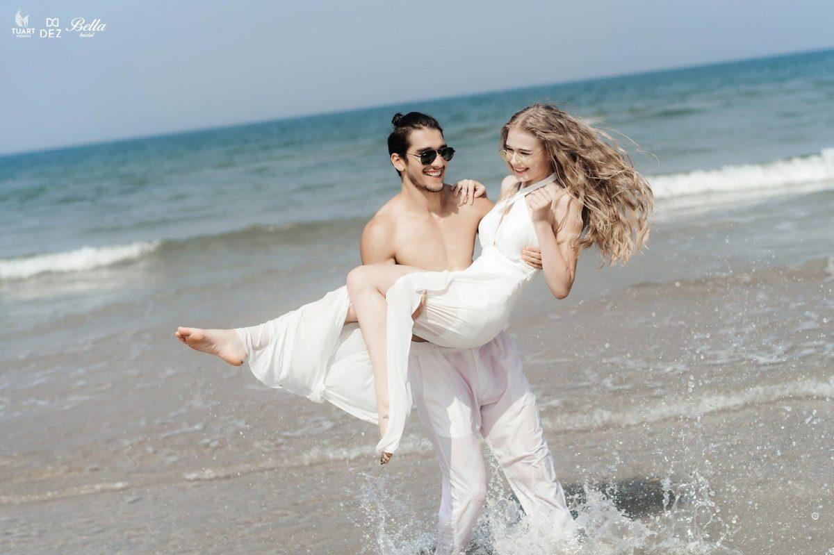 Album chụp hình cưới đẹp Mỹ Khê-Ngày hè rực rỡ