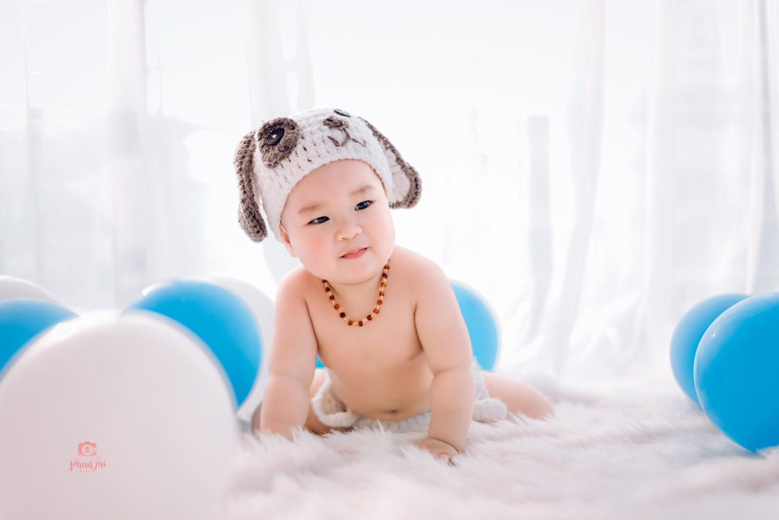 Album chụp ảnh cho bé Bí-Đầu bếp nhí 2