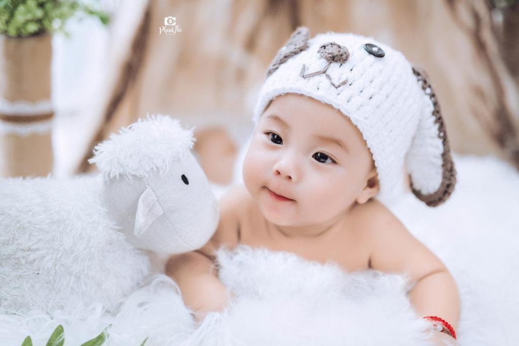Album chụp ảnh đẹp cho bé Gấu-Minh Khôi