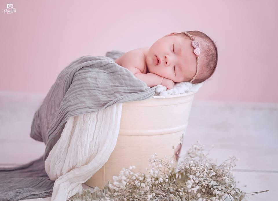 Album chụp ảnh newborn