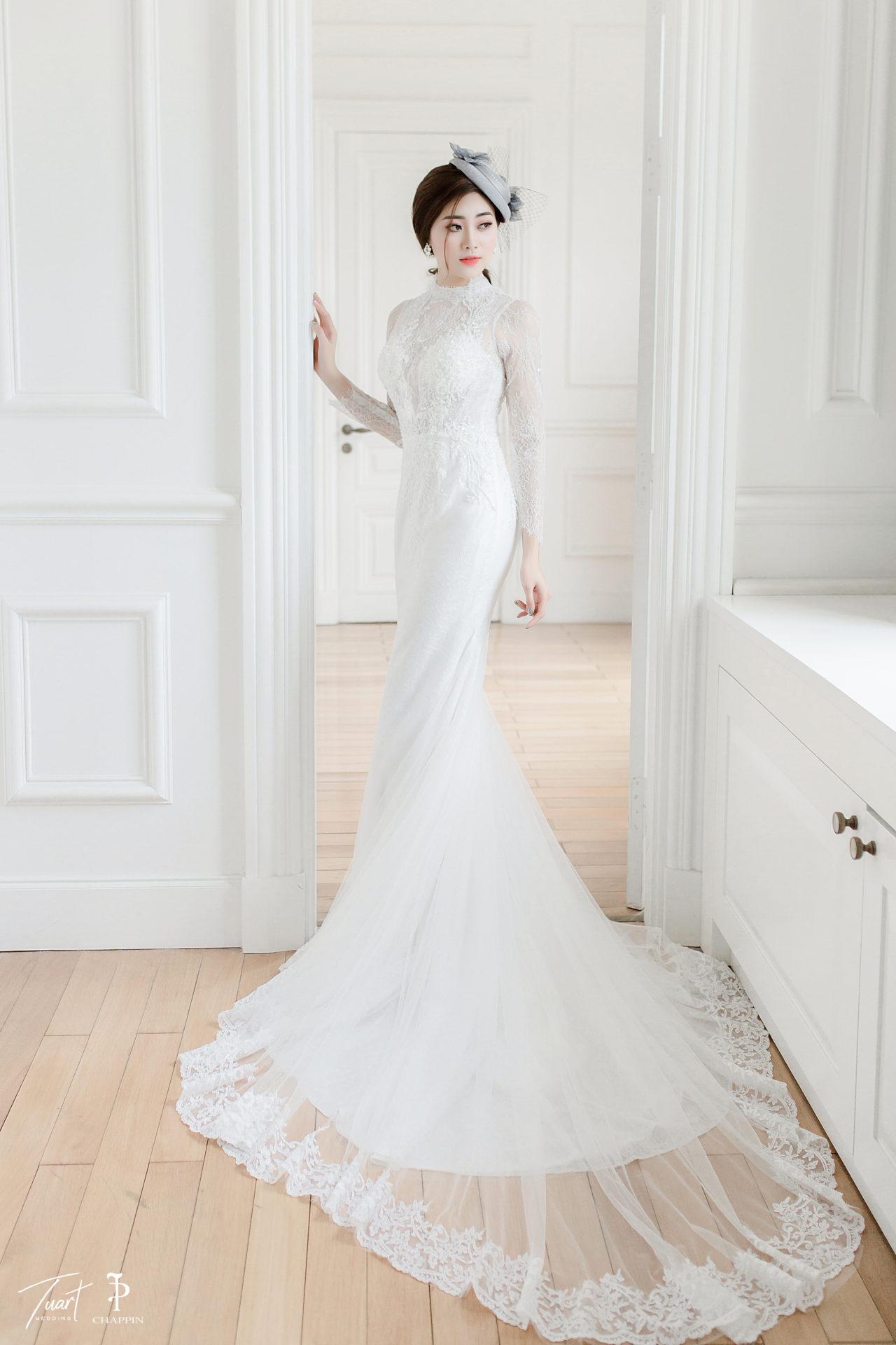 Váy cưới đuôi cá đẹp