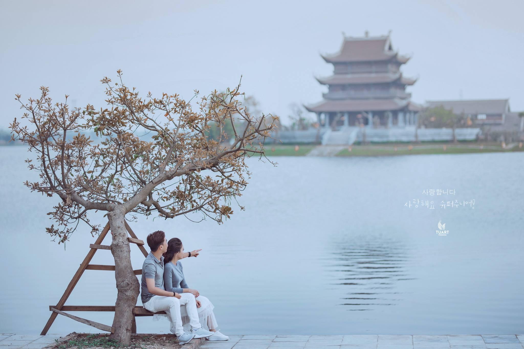 Album chụp ảnh cưới đẹp Ninh Bình-Bức tranh tình yêu