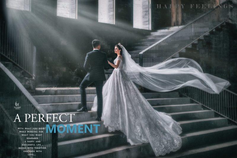 ảnh cưới đẹp ở Sài Gòn