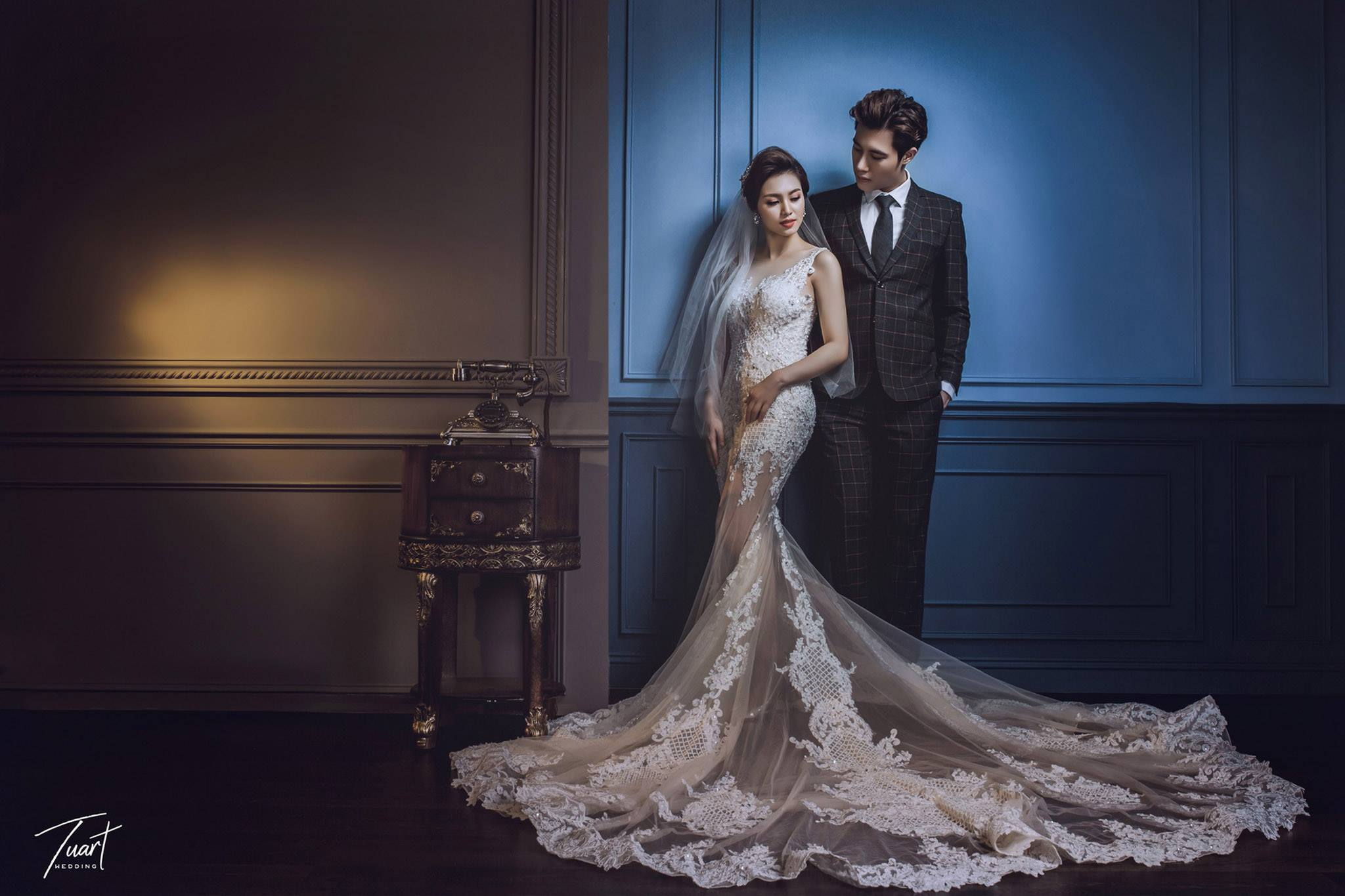 Album tại TuArt : Album chụp ảnh cưới phong cách Hàn Quốc