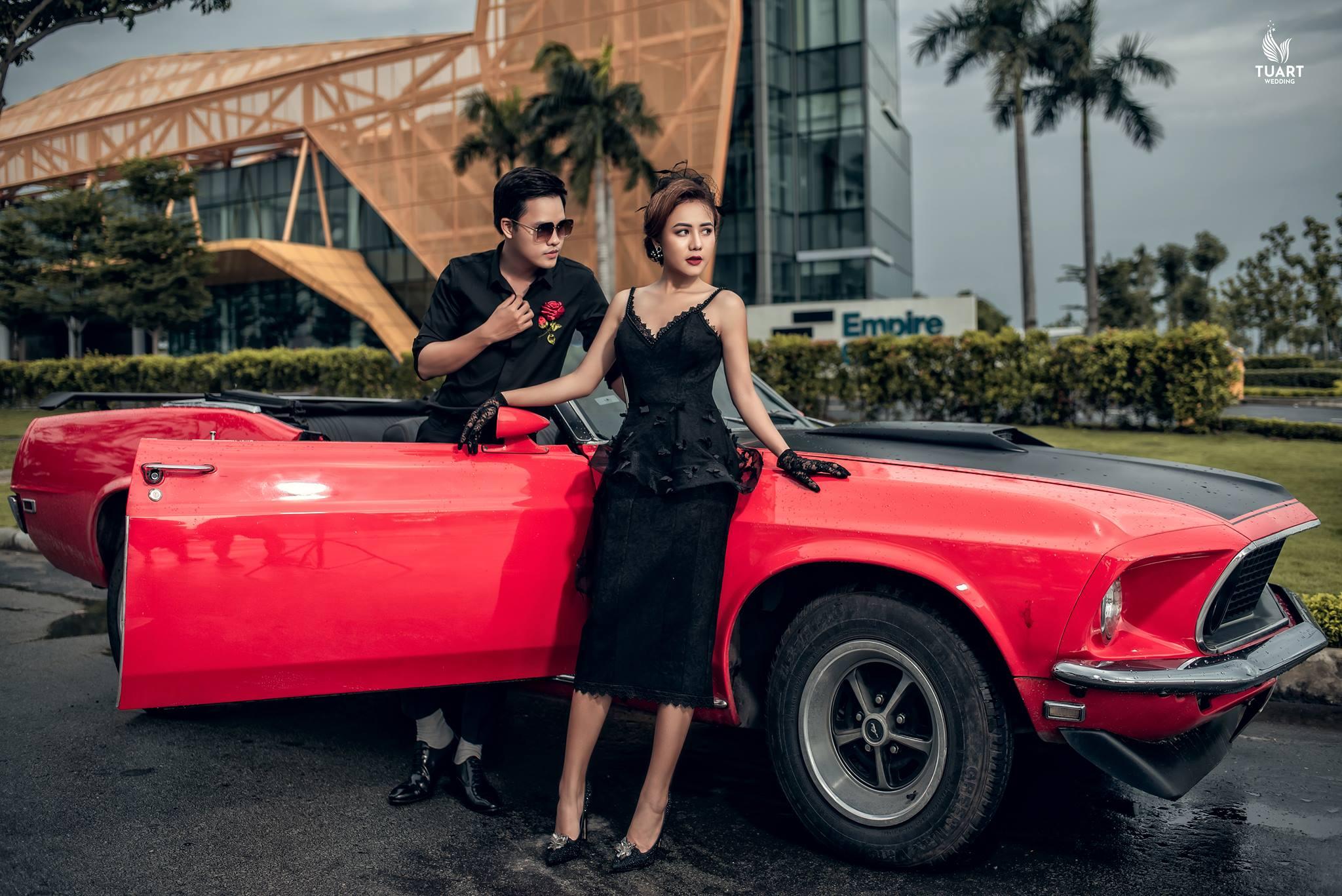 Album tại Sài Gòn – Album chụp hình cưới đẹp Đức & Vy