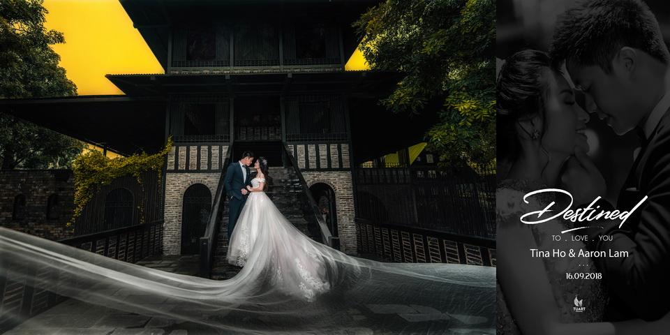 Album ảnh cưới đẹp Sài Gòn: Tina Ho – AaRon Lam