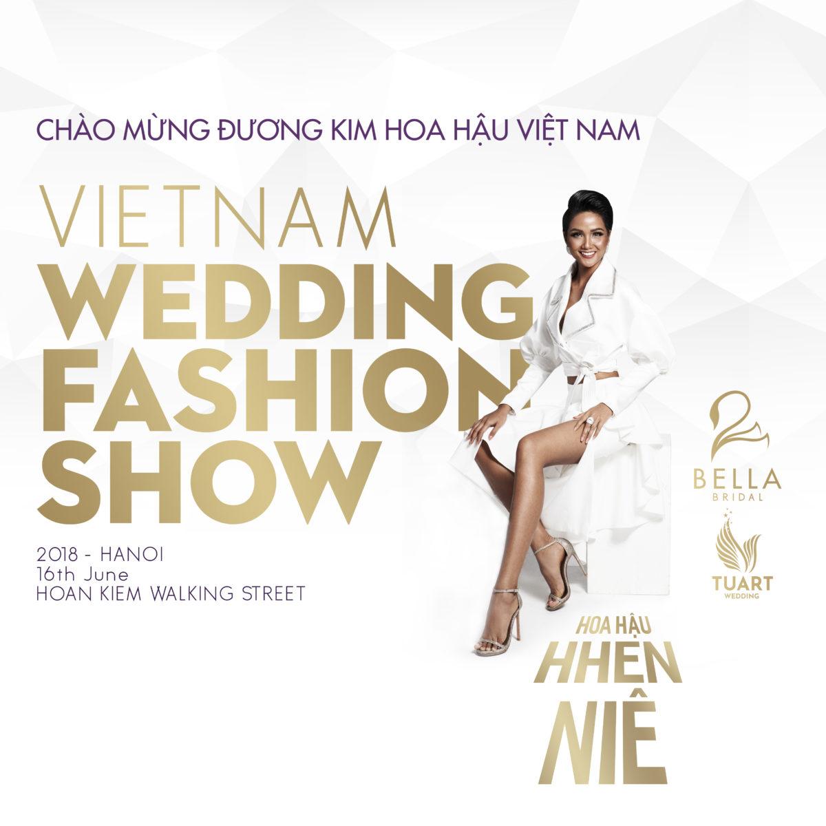 """show trình diễn trang phục cưới """"Vietnam Wedding Fashion Show"""