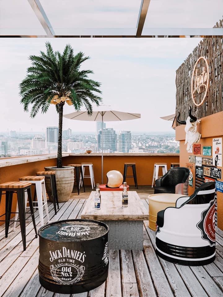 quán cafe rooftop đẹp cầu giấy