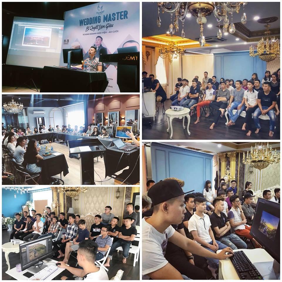 Khai giảng khóa huấn luyện đỉnh cao về Blend & Retouch tháng 9
