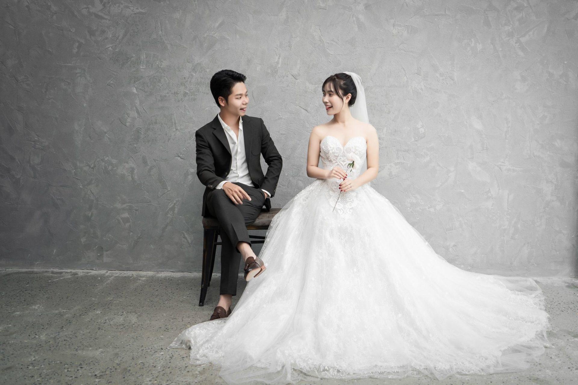 Album ảnh cưới theo phong cách Hàn Quốc