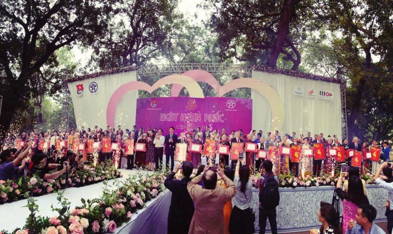 đám cưới tập thể