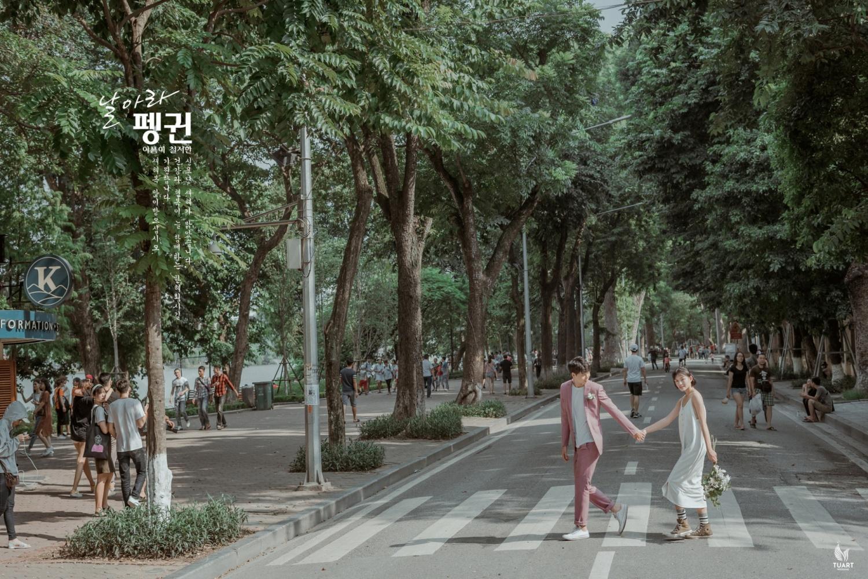 Album ảnh cưới Style Hàn Quốc
