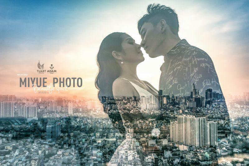 Album ảnh cưới ngoại cảnh Sài Gòn – TuArt Wedding