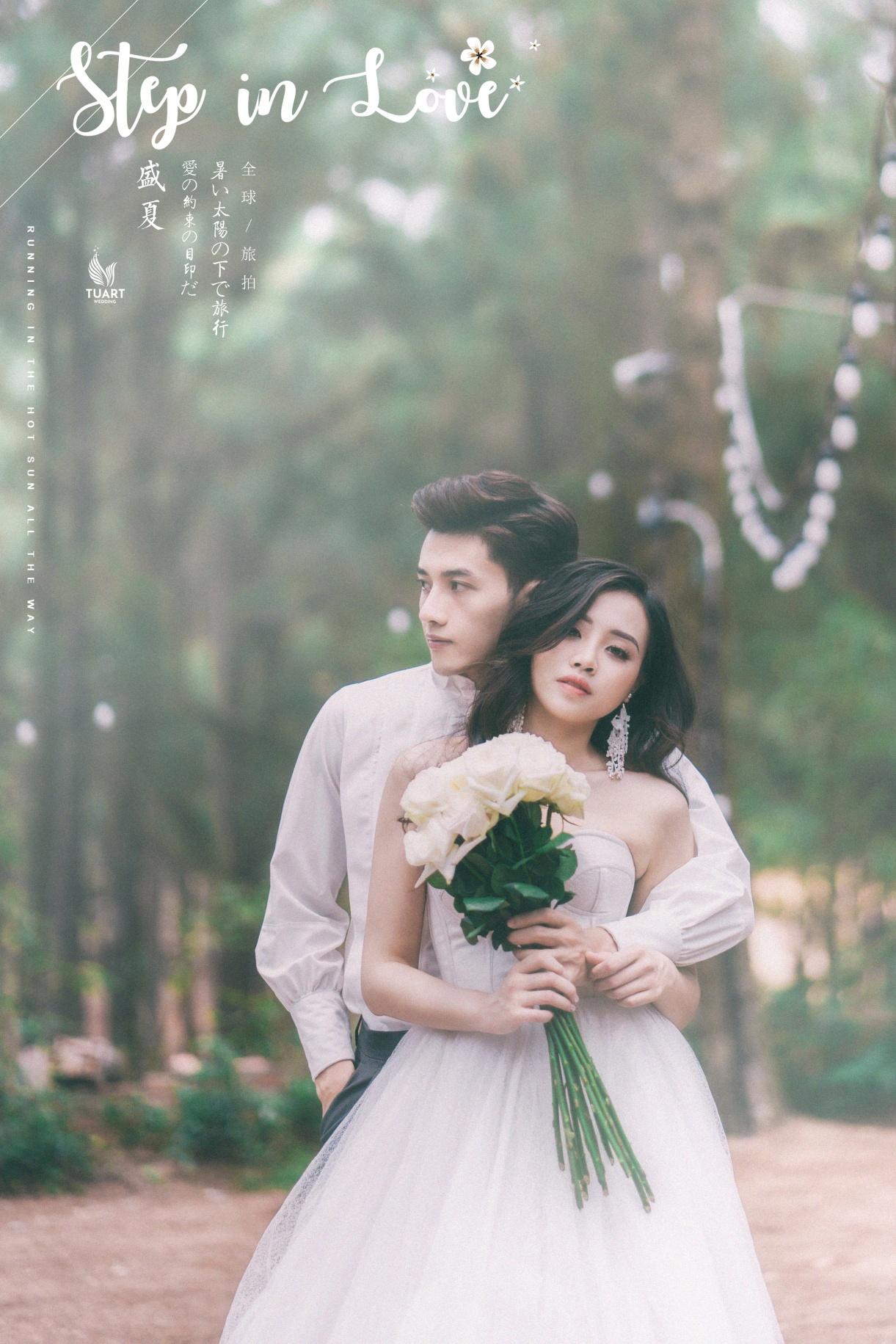 Ảnh cưới đẹp tại Đải Lải của Hotgirl Ly Giáng Vũ