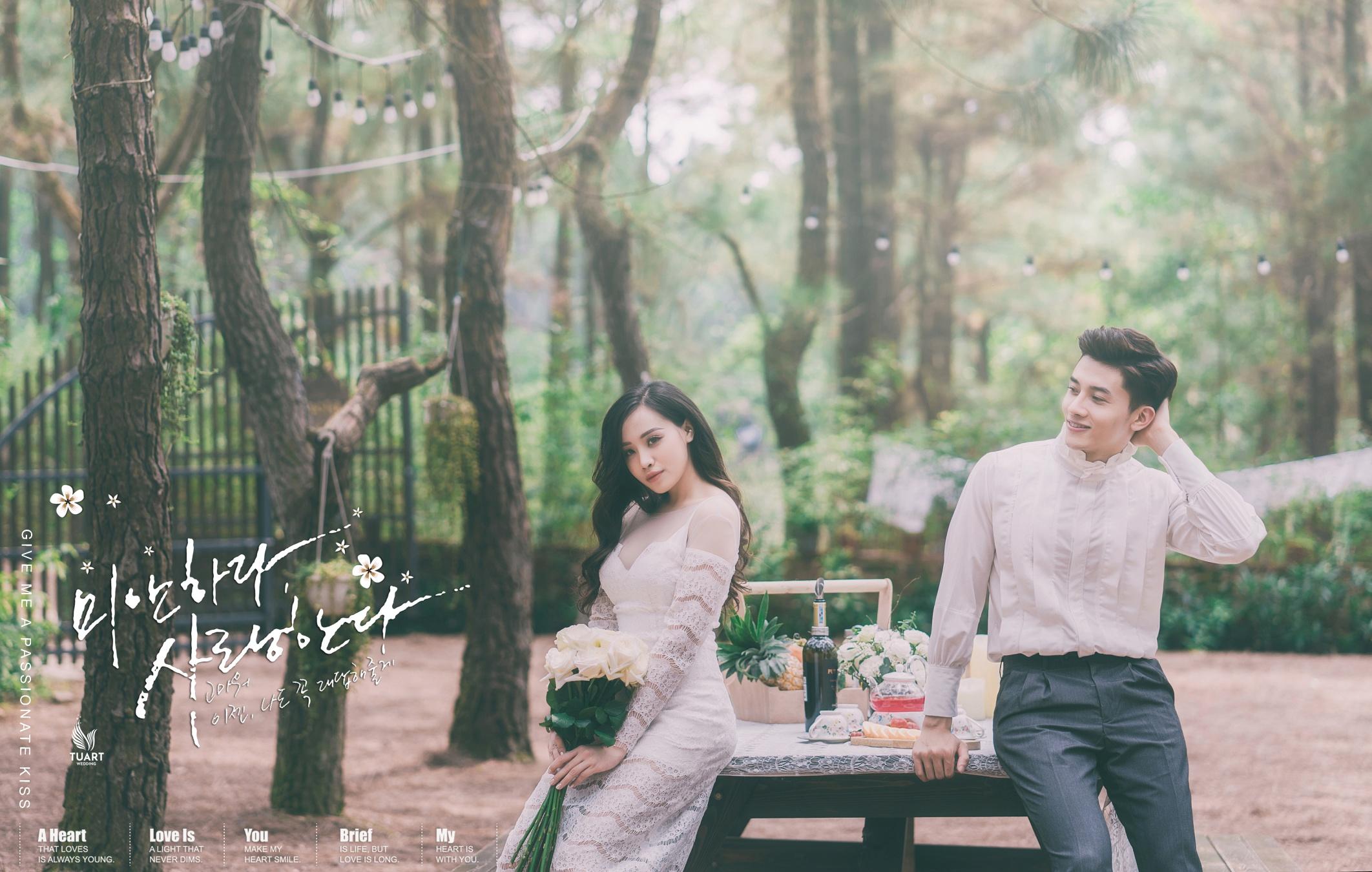 Album Đại Lải – Ảnh cưới đẹp của Hotgirl Ly Giáng Vũ