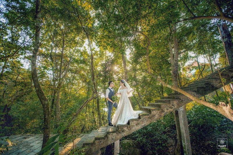 ảnh viện áo cưới đẹp tam đảo