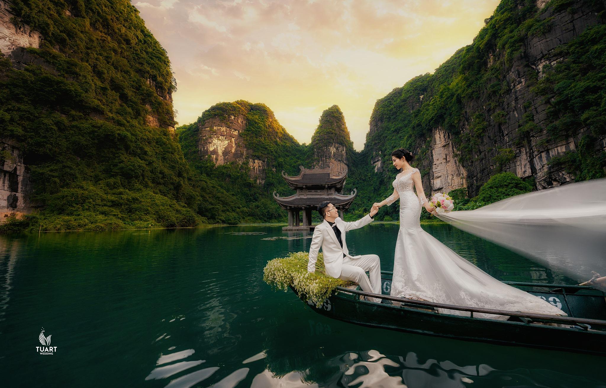 chụp ảnh cưới đẹp ninh bình