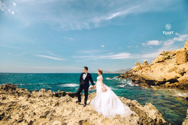 chụp hình cưới đẹp hang rái