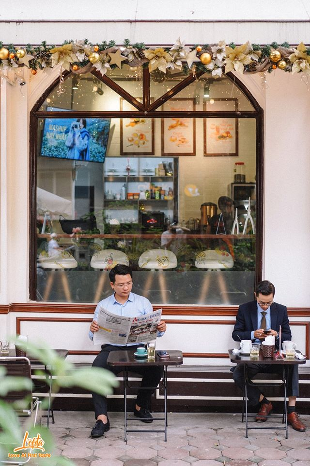Best coffee shops (cafes) not to be miissed in HaNoi