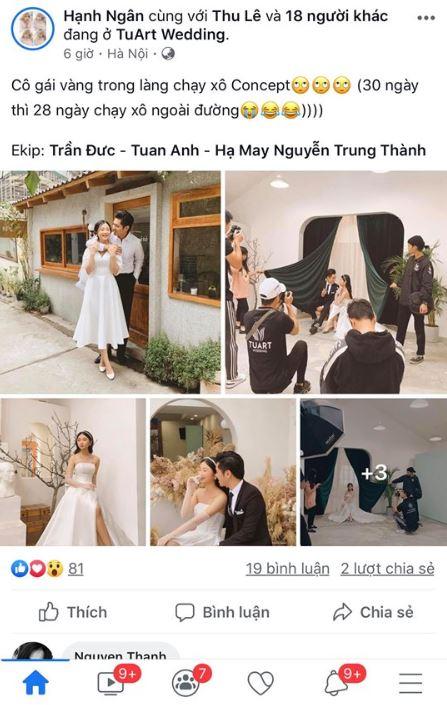 hậu trường chụp ảnh cưới đẹp