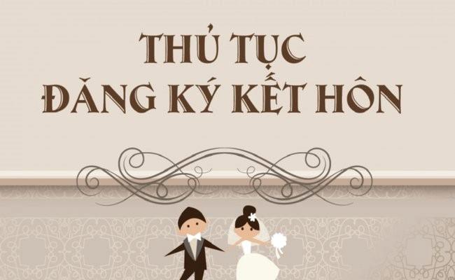 Thủ tục cần thiết khi đăng ký kết hôn khác tỉnh